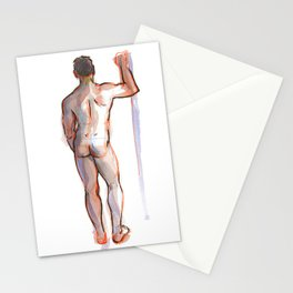 PATRICK, Nude Male by Frank-Joseph Stationery Cards