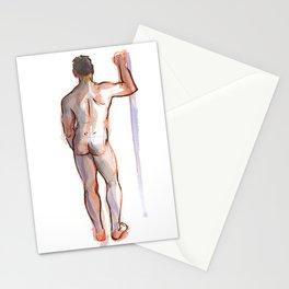 PATRICK, Nude Male by Frank-Joseph Stationery Cards