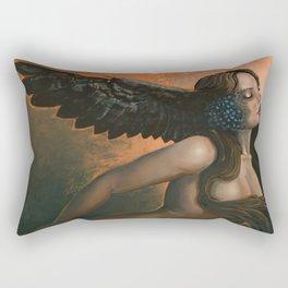 The Owl Mother Rectangular Pillow
