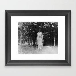 Thomas Eakins 1910 Photograph Framed Art Print