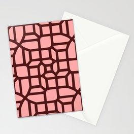 Little Maze Pattern Stationery Cards