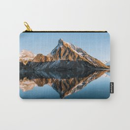 Calm Mountain Lake at Sunset - Landscape Photography Carry-All Pouch