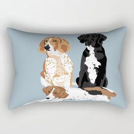 Elvis, Judd and Glory Bea Rectangular Pillow