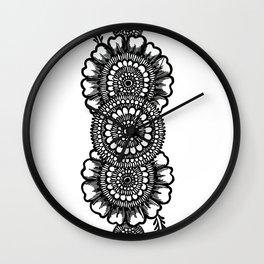 Sneha (Love) #2 Wall Clock