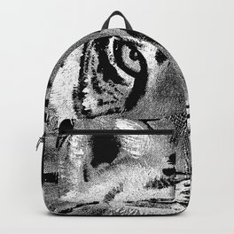 Tiger with White Background Backpack