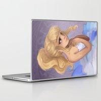 ballet Laptop & iPad Skins featuring Ballet by ToraBearr