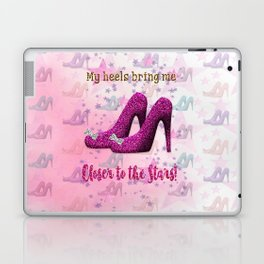 My High Heels Make Me Closer to the Stars Laptop & iPad Skin