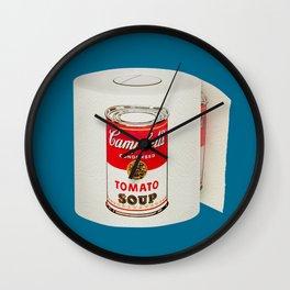 War Roll | Poop Art Wall Clock