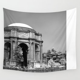 Palace Of Fine Arts - Infrared Wall Tapestry