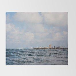 Panama City Beach Throw Blanket