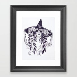 INKTOBER 2016 Day 4 Framed Art Print