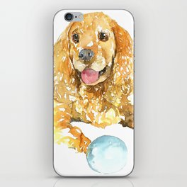 DOG#34 iPhone Skin