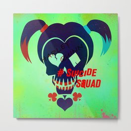 "Harley Quinn ""Suicide Squad"" Metal Print"