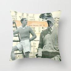Spinning Yarns Throw Pillow