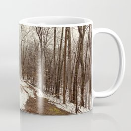 spring dusting of snow Coffee Mug