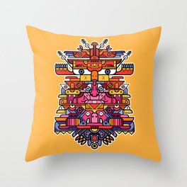 Totem 5 Throw Pillow