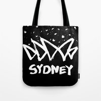 sydney Tote Bags featuring Sydney by Stoo York