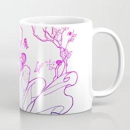 the Mask - a masked fairy girl  with long hair Coffee Mug