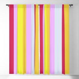 Striped Color Pastels Blackout Curtain