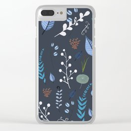 floral dreams 2 Clear iPhone Case