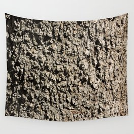 TEXTURES -- Western Sycamore Bark Wall Tapestry