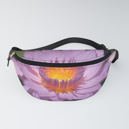 Tropical Lilac-Pink Colored Lily Pad Fanny Pack