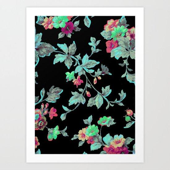 summer nite Art Print