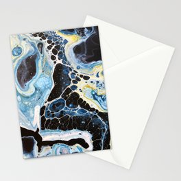 Marine 2 -- Abstract Painting Stationery Cards