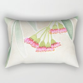 Gum Tree Sketch Rectangular Pillow