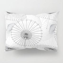 Japanese Umbrella pattern #9 Pillow Sham