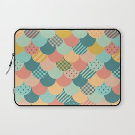 Patchwork Mermaid Scales Laptop Sleeve