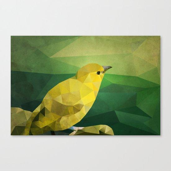 The Bird Canvas Print