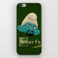 breaking bad iPhone & iPod Skins featuring Breaking Bad  by gazonula