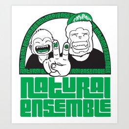 Monkey Bussiness Art Print