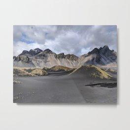 Iceland Stokksnes  Metal Print
