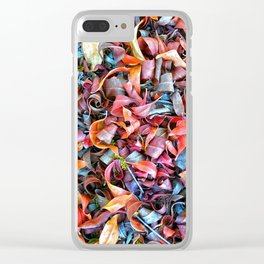 Leaf Art Clear iPhone Case