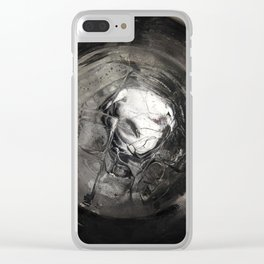No Flies Here Clear iPhone Case