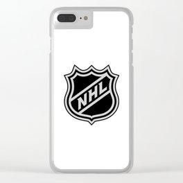 NHL LOGO Clear iPhone Case