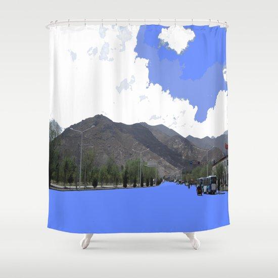 Lots Of Fresh Air Shower Curtain