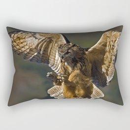 Real owl Rectangular Pillow