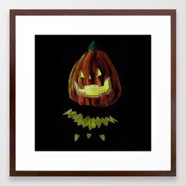 PUMPKIIIN Framed Art Print