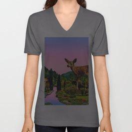 Giant deer Unisex V-Ausschnitt
