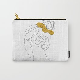 Scrunchie Girl Carry-All Pouch