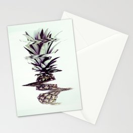 Glitched Pineapple Stationery Cards