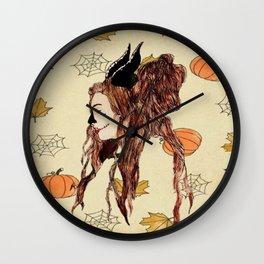 Happy Halloween (Maleficent ) Wall Clock