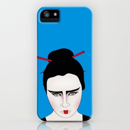 Grumpy Geisha // Japanese Style iPhone Case
