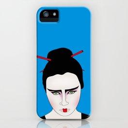Grumpy Geisha // Japanese Style iPhone Case