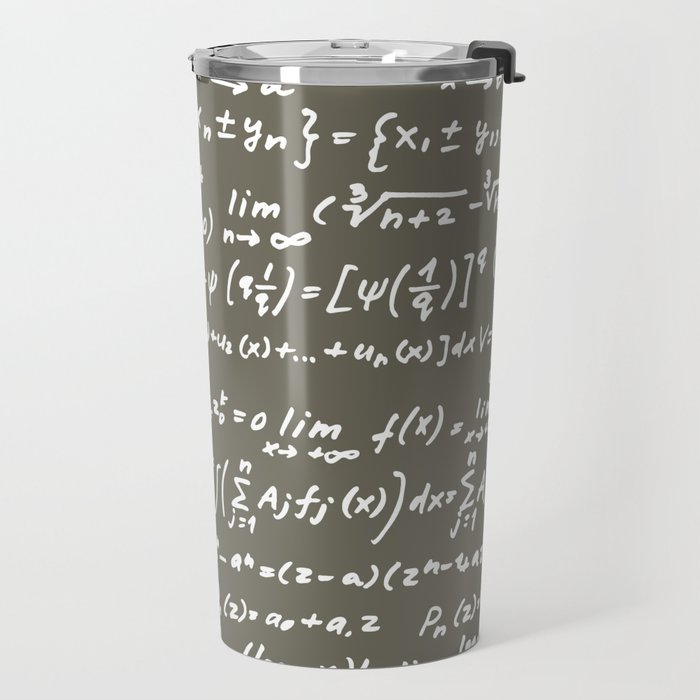 Math Travel Mug