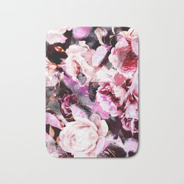 Roses in abstraction Bath Mat