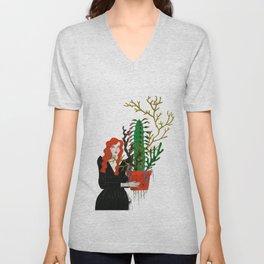 Plant Collector 1 Unisex V-Neck